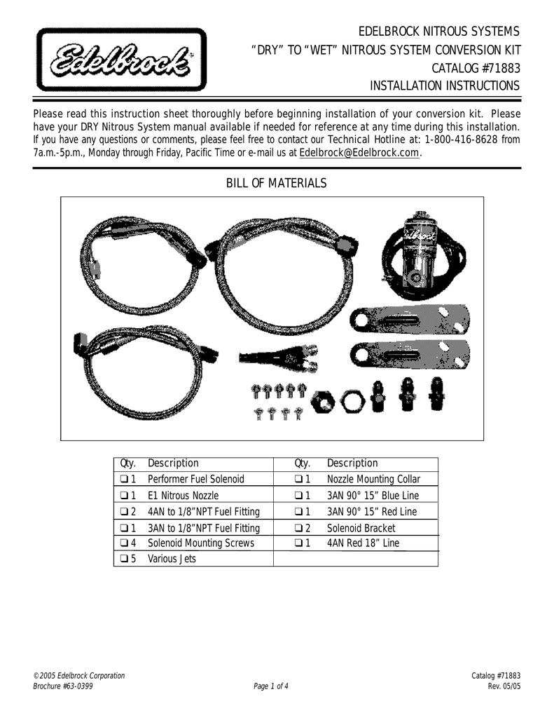 medium resolution of on nitrous with transke wiring diagram edelbrock