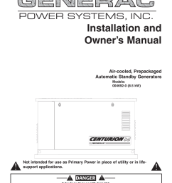 generac 004692 0 portable generator user manual [ 791 x 1024 Pixel ]