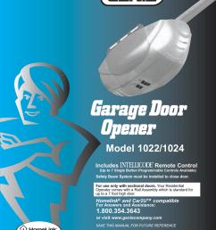 genie 1022 garage door opener user manual [ 791 x 1024 Pixel ]