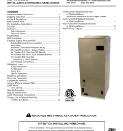 goodman mfg aspf air handlers wheelchair user manual [ 791 x 1024 Pixel ]