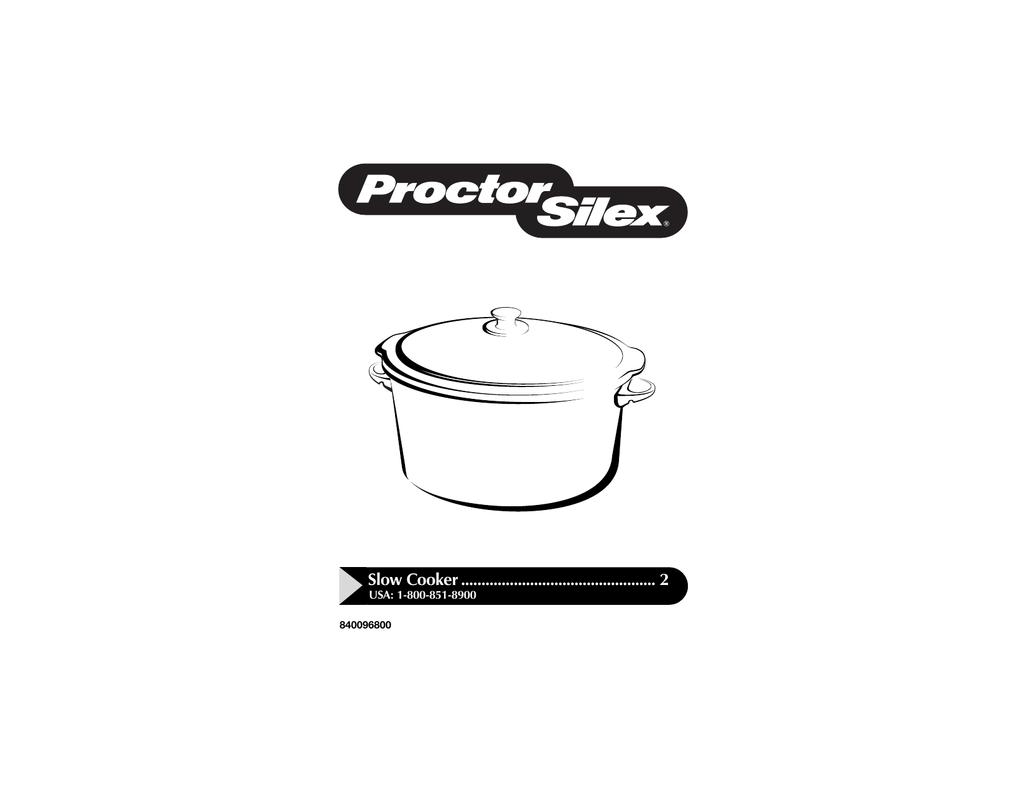 Rival Crock Pot Replacement Parts Model 38601