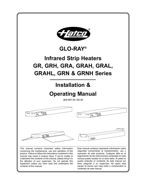 small resolution of hatco grahl printer accessories user manual