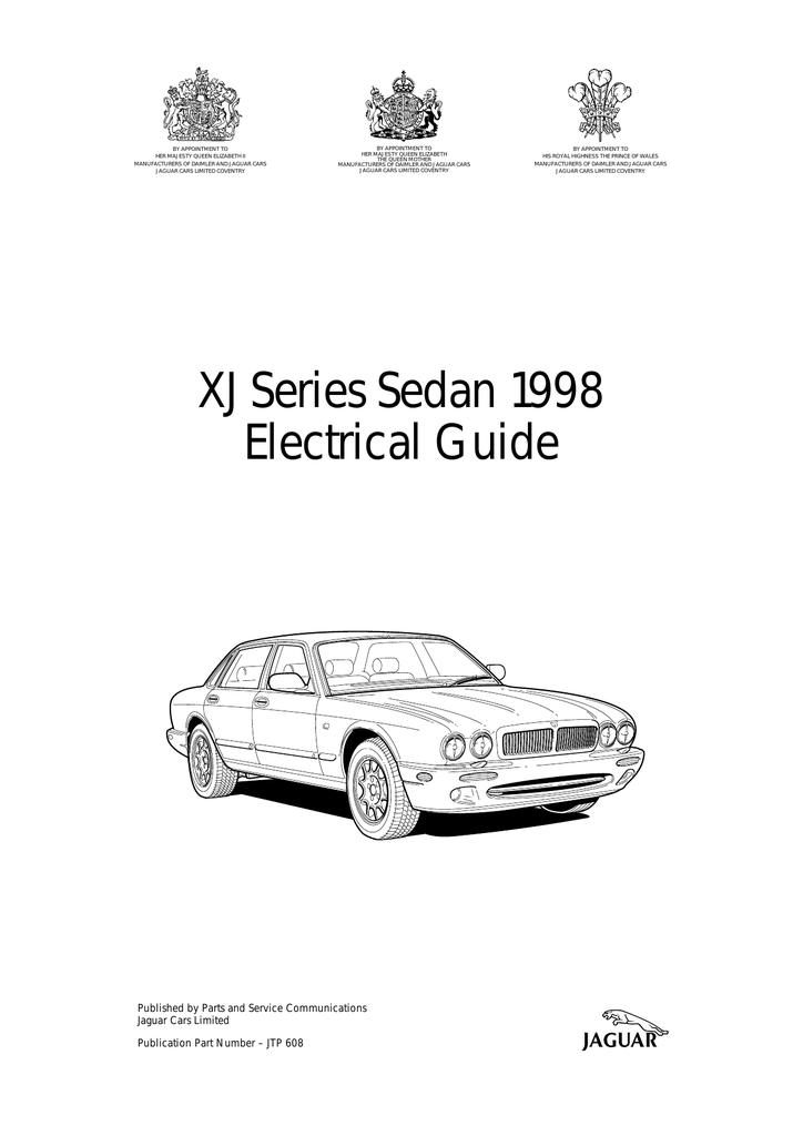 Jaguar Xj Owners Manual