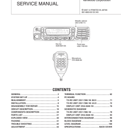 kenwood nx 800 car stereo system user manual [ 791 x 1024 Pixel ]