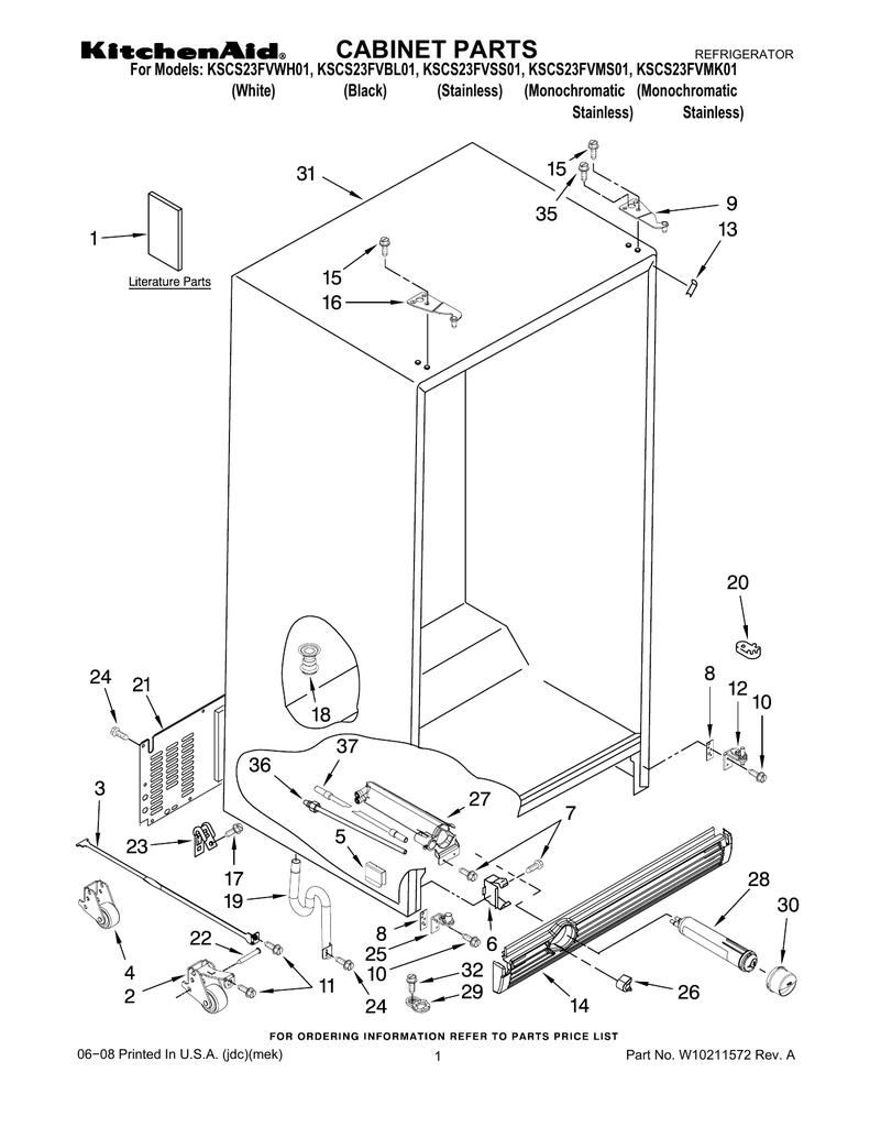 [MANULAS] Whirlpool Refrigerator Gd5nhaxmb00 Users Manual