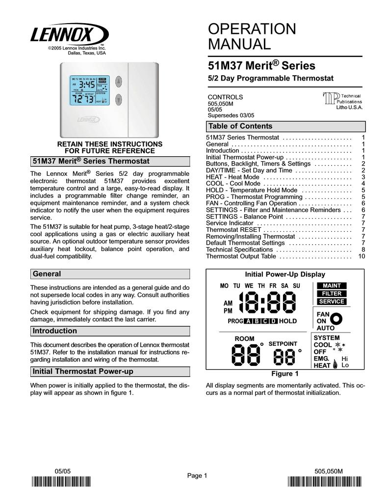 hight resolution of  lennox heat pump thermostat wiring diagram model m on