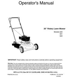 mtd 021 lawn mower user manual [ 791 x 1024 Pixel ]