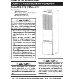 nordyne m1b furnace user manual [ 791 x 1024 Pixel ]