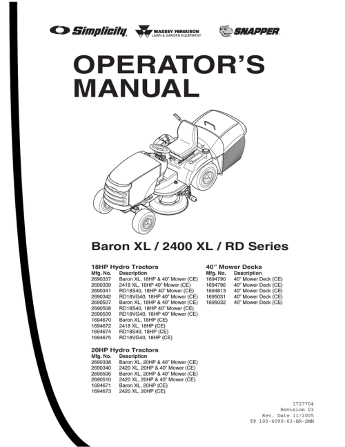 small resolution of snapper xl series lawn mower user manual manualzz com diagram in addition snapper drive belt diagram besides lawn mower