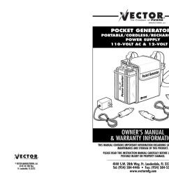 user manual vector vec018 power supply user manual [ 1024 x 791 Pixel ]