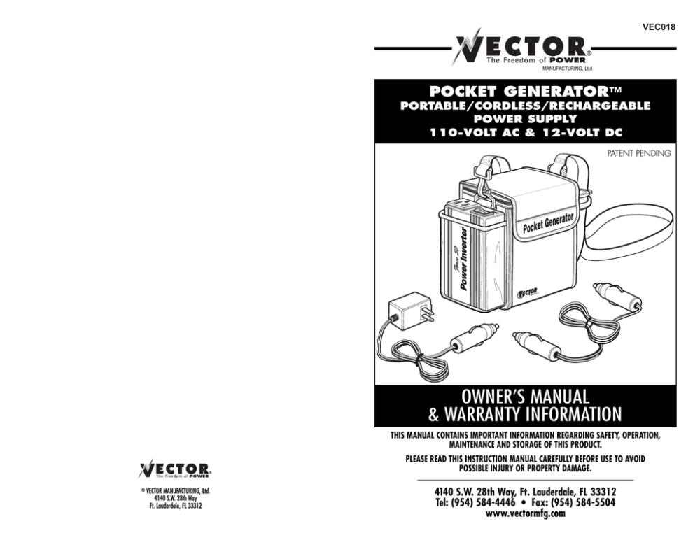 medium resolution of user manual vector vec018 power supply user manual