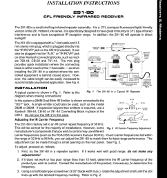 owner s manual xantech 291 80 stereo receiver user manual [ 791 x 1024 Pixel ]