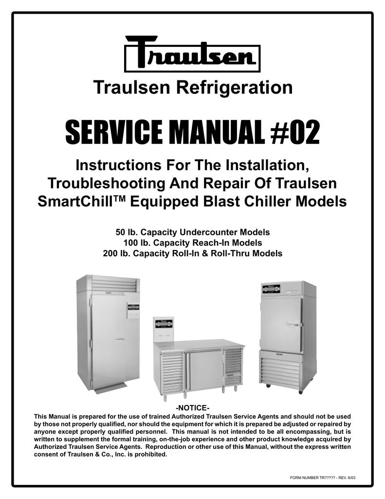 medium resolution of traulsen rbc100 blast chiller reach in unit traulsen refrigeration