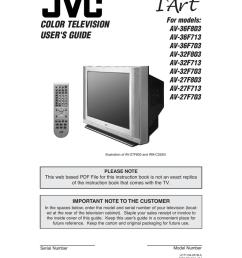 jvc av 27f713 27 tv [ 791 x 1024 Pixel ]