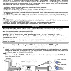 Onstar Wiring Diagram 2009 Club Car Precedent Pac Harness