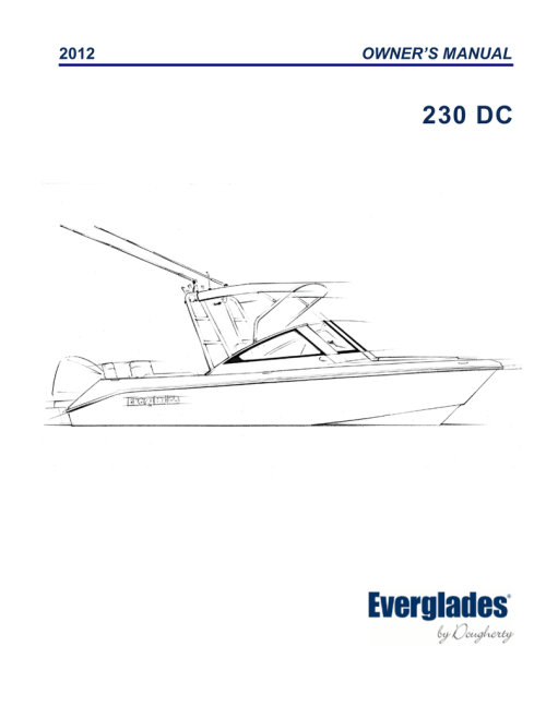 small resolution of 230 dc everglades boats