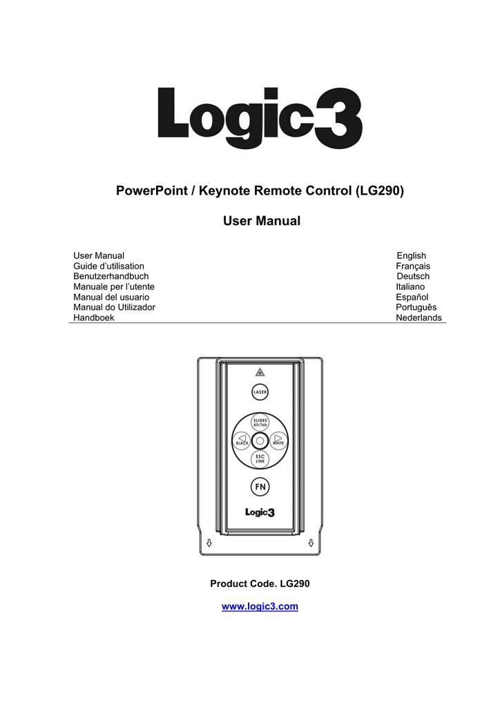 LG290C MANUAL PDF