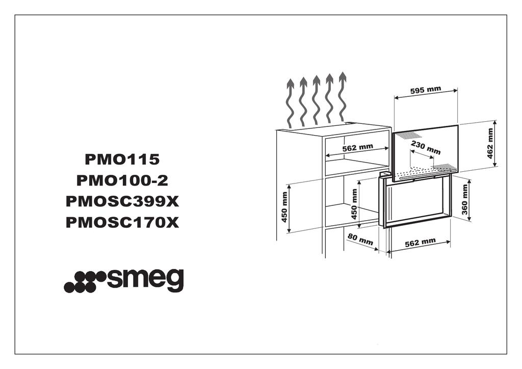Smeg PMO100EB2, PMO100SG2, PMO100-2, PMO100NE2 User manual