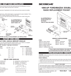 scosche fd1300b mounting kit [ 1024 x 791 Pixel ]