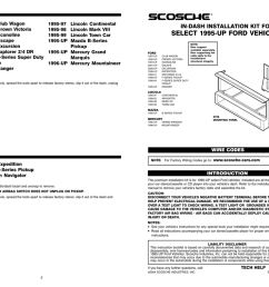 scosche fd1423b mounting kit manualzz com 1999 ford ranger tires ford ranger wiring harness 1999 negative [ 1024 x 791 Pixel ]