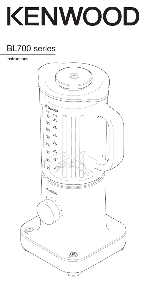 Kenwood BL760 Goblet and Mill Blade Seal Small Appliance