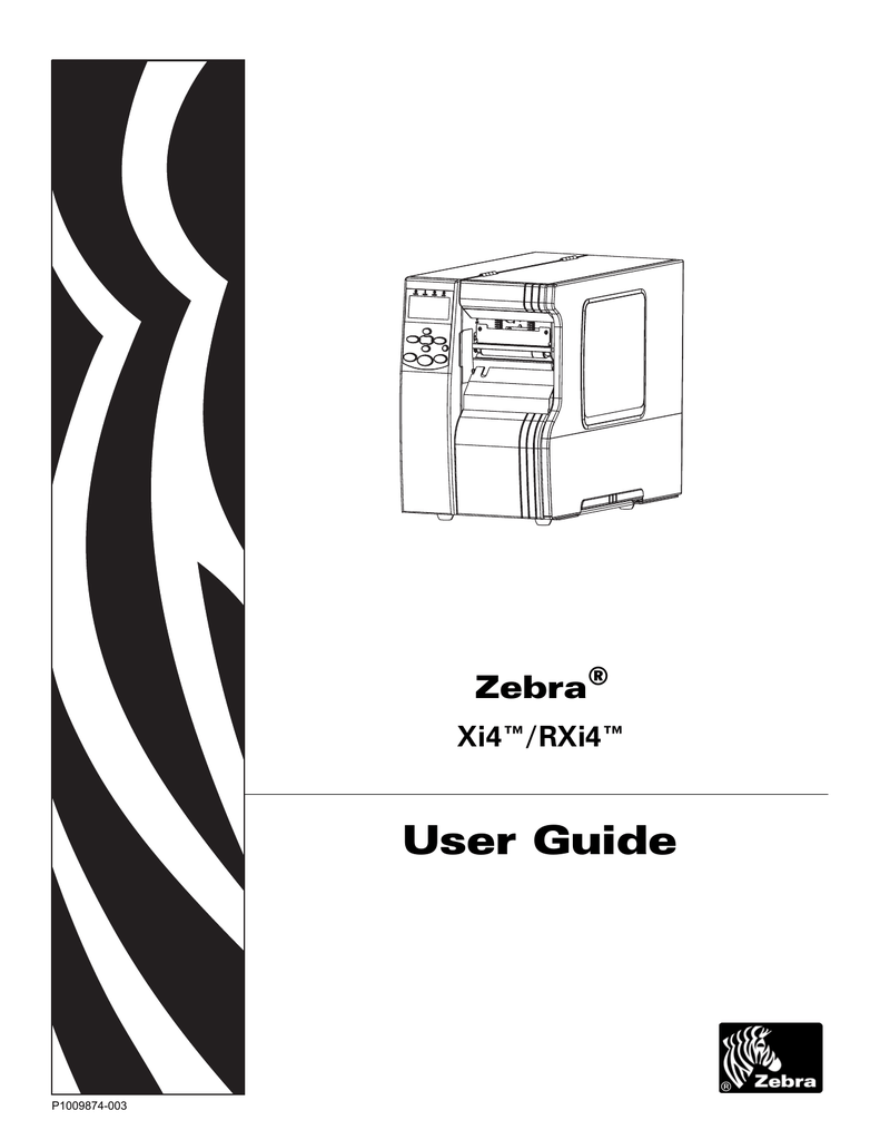 Zebra 110xi4 Ribbon In Error