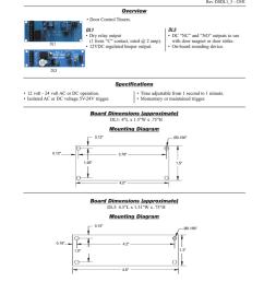 altronix dl1 dl1 dl3 door control timers rev dsdl1 3 c05i overview door control timers dl1 dry relay output 1 form c contact rated 2 amp  [ 791 x 1024 Pixel ]
