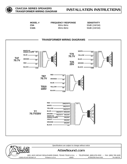 small resolution of atla sound wiring diagram