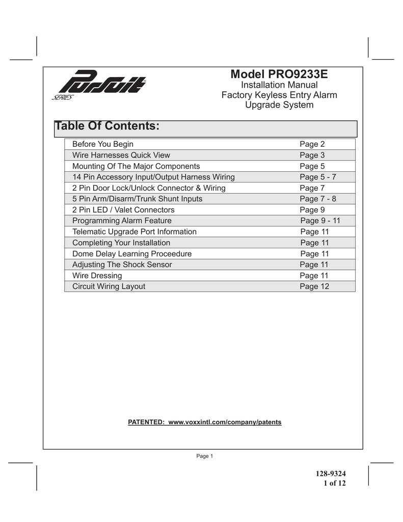 hight resolution of audiovox as9076c installation manual