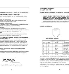 avaya 302d user s manual [ 1024 x 791 Pixel ]