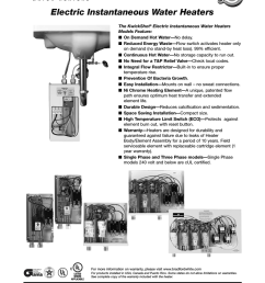 bradford white corp electric instantaneous water heaters user s manual [ 791 x 1024 Pixel ]