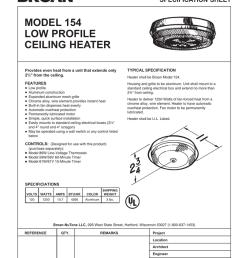 broan 154 user s manual [ 791 x 1024 Pixel ]