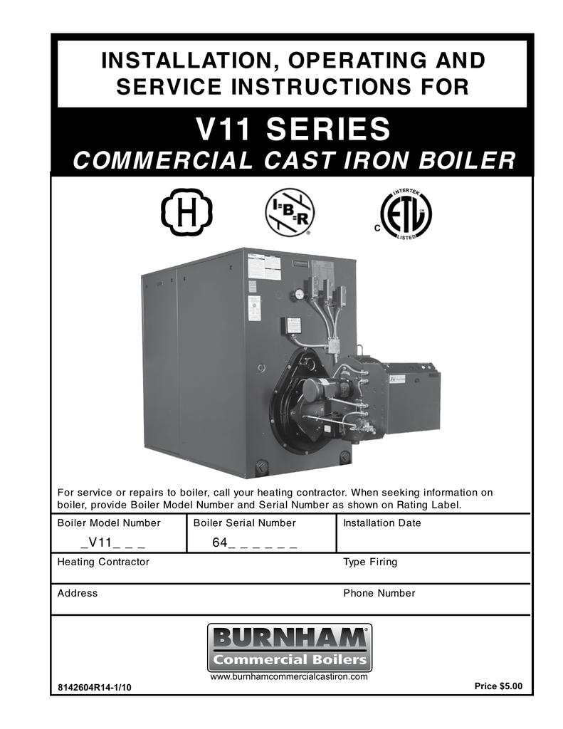 hight resolution of burnham series v11 installation and operation manual