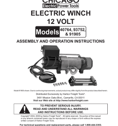 chicago electric 40764 user s manual [ 791 x 1024 Pixel ]