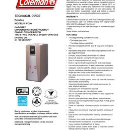 coleman echelon fc9v user s manual [ 791 x 1024 Pixel ]