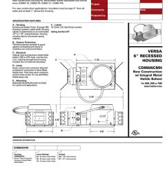 cooper lighting cdm6ncmh user s manual [ 791 x 1024 Pixel ]