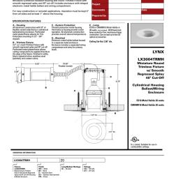 metal halide wiring diagram for an light fixture [ 791 x 1024 Pixel ]