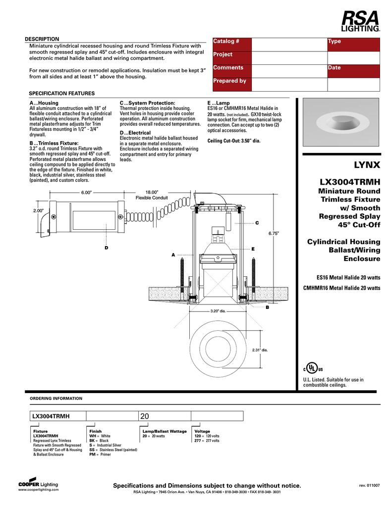 hight resolution of metal halide wiring diagram for an light fixture