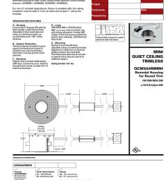 cooper lighting qcm504rmmh user s manual [ 791 x 1024 Pixel ]