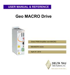 simplicity delta tau geo macro drive user s manual manualzz com on simplicity tractor  [ 791 x 1024 Pixel ]