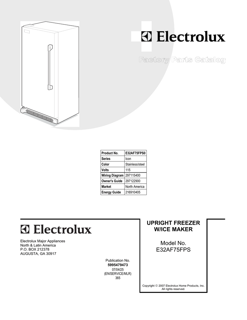 hight resolution of electrolux icon e32af75fps0 user s manual