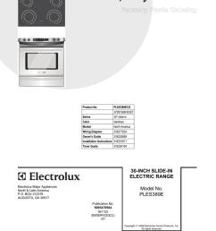 electrolux oven wiring diagram [ 791 x 1024 Pixel ]