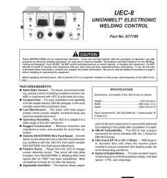 esab welding system part no 677190 user s manual [ 791 x 1024 Pixel ]