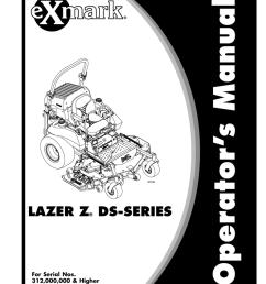 exmark exmark lazer z ds series lzds user s manual [ 791 x 1024 Pixel ]