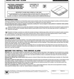first alert low profile smoke alarm user s manual [ 791 x 1024 Pixel ]