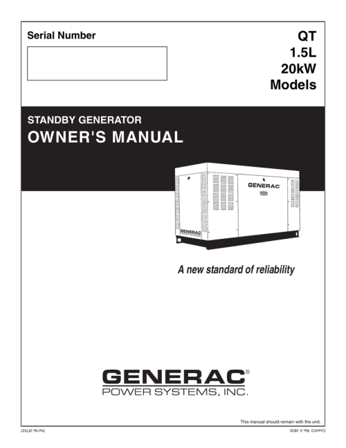 small resolution of generac qt 1 5l user s manual