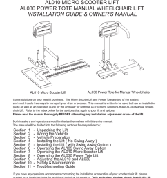 harmar mobility al010 user s manual [ 791 x 1024 Pixel ]
