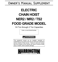 harrington 5 ton electric chain hoist wiring diagram [ 791 x 1024 Pixel ]