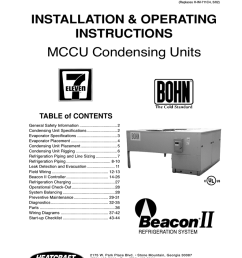 heatcraft refrigeration products ii user s manual [ 791 x 1024 Pixel ]