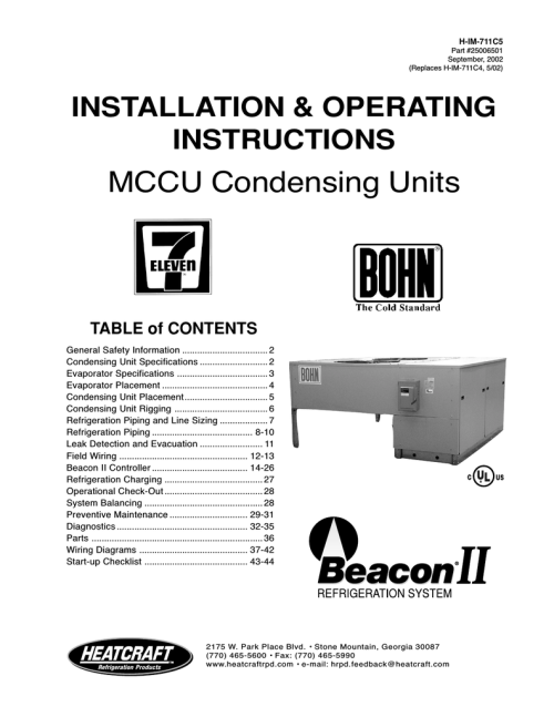 small resolution of heatcraft refrigeration products ii user s manual